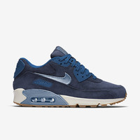 The Nike Air Max 90 Premium Suede Women's Shoe.