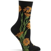 Apothecary Florals Marigold Sock