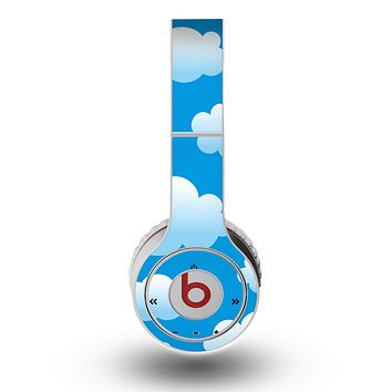 The Cartoon Cloudy Sky Skin for the Original Beats by Dre Wireless Headphones
