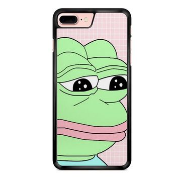 Aesthetic Pepe Frog iPhone 7 Plus Case