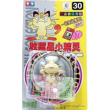 Auldey Tomy Pokemon #30 Meowth Figure