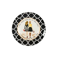 Best Friend Ceramic Plate