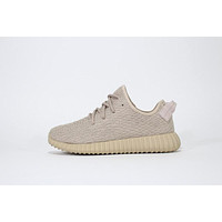 Adidas Yeezy Boost 350 Oxford Tan Running Shoes - Aq2661