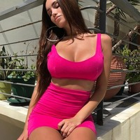 New Sexy Womens Bodycon Summer Mini Dress Evening Party Hot Sets