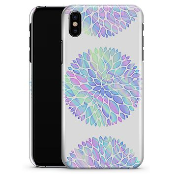 Iridescent Dahlia v5 - iPhone X Clipit Case