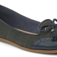 Sperry Top-Sider Harper Oxford Flat Olive/Navy, Size 8.5M  Women's Shoes