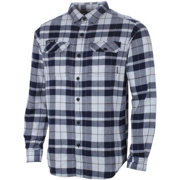 Penn State Nittany Lions Columbia Collegiate Flare Gun Omni-Shield Flannel Shirt – Navy Blue
