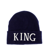 ASOS Beanie Hat with King Logo