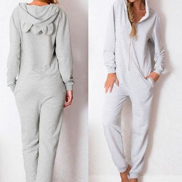 DCCKI2G Orecchiette hooded fashion Jumpsuits