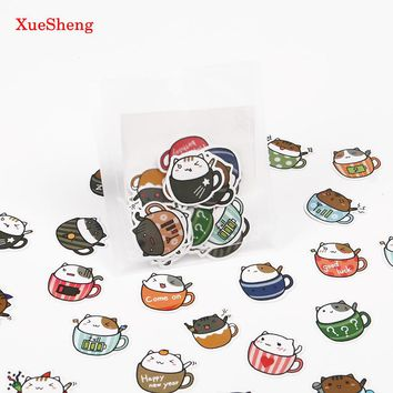 3 Sets Cute Cartoon Korean Style Decorative Stickers Adhesive Stickers Scrapbooking DIY Decoration Diary Stickers