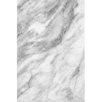 Printed Background Grey White Marble Backdrop - Rebate Eligible - R1063
