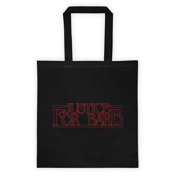 Justice for Barb Tote Bag