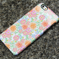 Summer Flowers iPhone 6 s Case Floral iPhone 6 plus iPhone 5S 5 iPhone 5C iPhone 4S/4 Samsung Galaxy S6 edge S6 S5 S4 S3 Note 3 Case 017