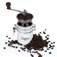 Country Cottage™ Ceramic Coffee Grinder