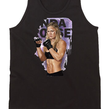Ronda Rousey Expendables Mens Tank Top