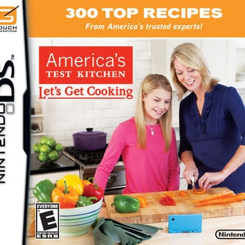 America's Test Kitchen: Let's Get Cooking - Nintendo DS (Very Good)