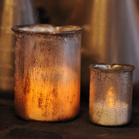 Mad Scientist's Laboratory Beakers/Candleholders--Halloween Decor