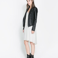 LEATHER JACKET - Jackets - Blazers - Woman | ZARA Canada