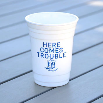 Personalized party cup | Reusable solo cup with cowboy boots | Country girl or cowboy gift idea