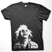 Beetlejuice T Shirt - Tim Burton Movie Tshirt Funny Horror Movie