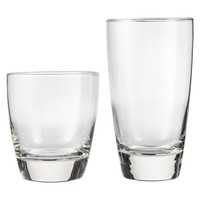 Threshold™ Sherbrook Classic Glass Drinkware Set of 12 - Clear (13 oz - 16 oz)