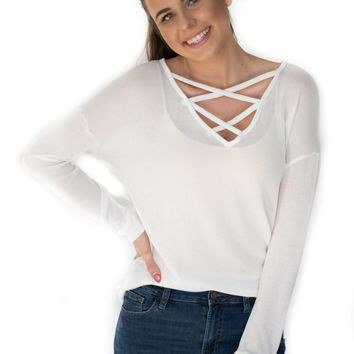 Newport Criss-Cross Top