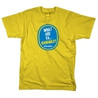 "Elvis Duran ""What Are Ya, Bananas?"" Tee on Yellow"