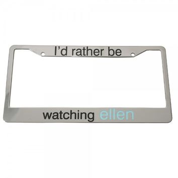 The Ellen DeGeneres Show Shop - LICENSE PLATE FRAME