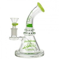 Cheech & Chong's Strawberry Mini Beaker Bong | Apple Green | Grasscity