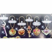 Sailor Moon Die-Cast Charm Gashapon Set of 6 **Preorder**