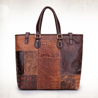 YUANGU Men and women retro package. Full leather. High-quality products YG217