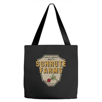 World Famous Beets Schrute Farms Tote Bags