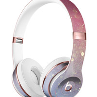 Pink and Blue Shimmering Orbs of Light Full-Body Skin Kit for the Beats by Dre Solo 3 Wireless Headphones