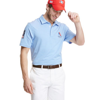 America's Cup Cliff Stripe Polo