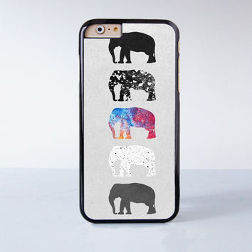 Elephant Collection  Plastic Case Cover for Apple iPhone 4 4s 5 5s 5c 6 6s Plus