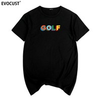 Golfed Wang Sk New 90th Tyler The Creator OFWGKTA Skate Frank Ocean Harajuku T-shirt Cotton Men T shirt New TEE TSHIRT Womens