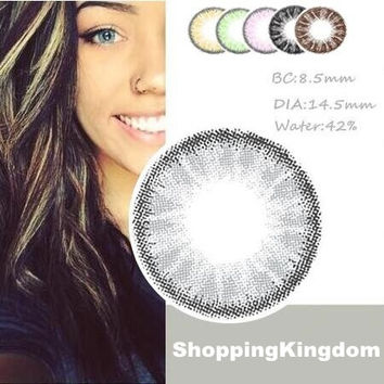 Colored Cosmetic Contact Lenses