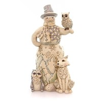 Jim Shore Kindred Spirits Figurine Christmas Figurine