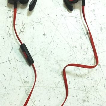 Beats by Dre Powerbeats Wireless Bluetooth Earbuds Black & Red - UNTESTED