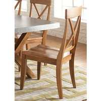 Liberty Furniture Dining Room X Back Side Chair (RTA) 119-C3000S