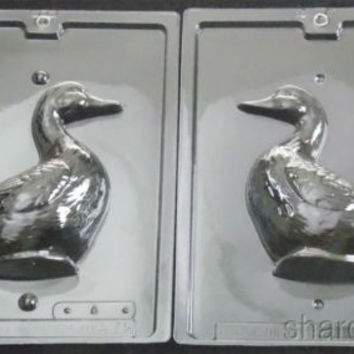"""6"""" Duck Chocolate 2 Pc Molds Life Of The Party 3D A73 Candy Soap Easter Assemble"""
