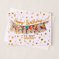 Thimblepress Confetti Birthday Card | Urban Outfitters