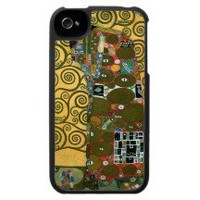 Fulfillment (The Embrace) by Gustav Klimt Case For The Iphone 4