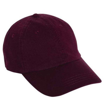 Gap Style Dad Hats - Burgundy