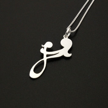 Sterling silver Mother and Child necklace Family pendent mother and baby necklace mothers day gift