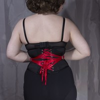 Made To Order Fan Laced Underbust Corset