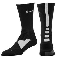 Nike Hyper Elite Basketball Crew Sock - Men's at Foot Locker