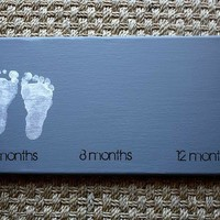 Crafts/DIY / Foot print art - I HAVE to do this ... ASAP!