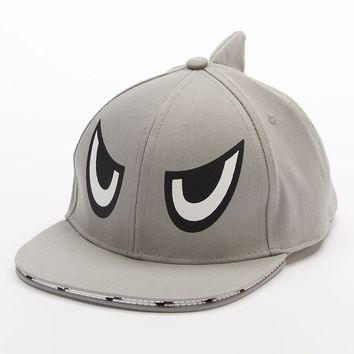 Shark Baseball Hat - Boys, Size: YOUTH (Grey)
