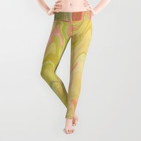 Colorful Zigzags Leggings by Artistic Home Accessories